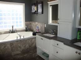 traditional master bathroom with undermount sink by kristina