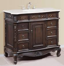 traditional 40 inch white quartz counter bathroom vanity