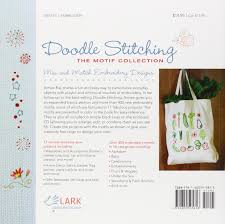 doodle stitching the motif collection 400 easy embroidery