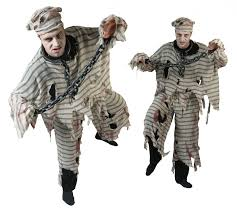 zombie prisoner costume for men halloween vegaoo