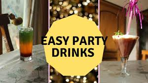 welcome drinks for party surprise video youtube