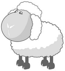 file sheep in gray svg wikimedia commons
