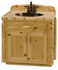 pine bathroom vanity rustic north woods cabinets minnesota