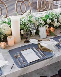 Accessorize Your End Table With Silver Vases And Votives by 79 White Wedding Centerpieces Martha Stewart Weddings