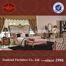 Used Bedroom Furniture Sale 0061 Dubai Classic Wooden Carving Design Bedroom Set Hotel Villa