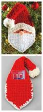 christmas santa pocket surprise ornament free pattern