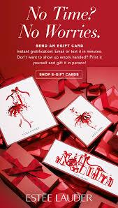 send an egift card estée lauder need a last minute gift send an egift card now