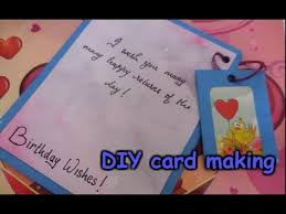 Card Making For Children - diy card making easy and simple card making for kids youtube
