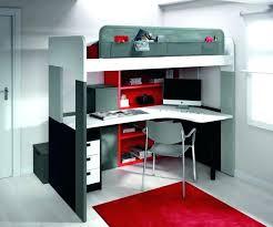 coin bureau design lit mezzanine avec bureau amazing size of design
