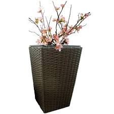 9 best our sweetgrass faux rattan planters images on pinterest