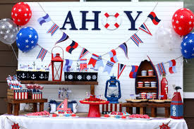 ahoy a nautical backyard summer bash great 4th of july ideas