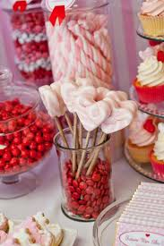 Pink Wedding Candy Buffet by Best 25 Pink Dessert Tables Ideas On Pinterest Pink Round