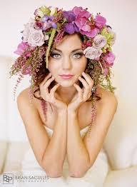 Las Vegas Wedding Hair And Makeup 89 Best Flowers In Her Hair Images On Pinterest Hairstyles