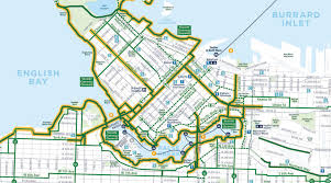 Portland Bike Maps by On Growth Transit And Bikes In Vancouver B C The Northwest