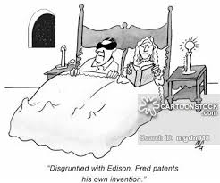 edison light bulb invention thomas edison cartoons and comics funny pictures from cartoonstock