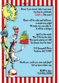 dr seuss birthday invitations dr seuss birthday invite cimvitation