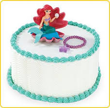 how bout a 1 2 sheet cake from sam u0027s club in ariel u0027s colors and i