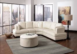 living room futuristic modern curved sofa with white fabric