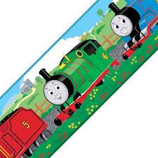 thomas train tank engine self stick wall border accent roll