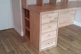 fabrication d un bureau en bois fabrication bibliothèque et bureau d angle sur mesure en bois