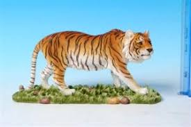 tiger figurine ornament wildlife regency tiger figurine