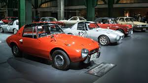 classic toyota cars this totally free car theme park in tokyo will blow your mind