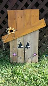 pallet halloween yard decoration ideas pallet wood projects