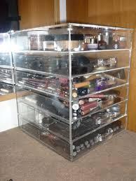 home design kim kardashian acrylic makeup storage small kitchen