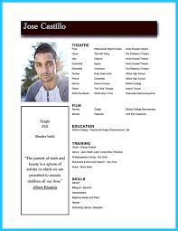 How To Acting Resume Best 25 Acting Resume Template Ideas On Pinterest Good Resume