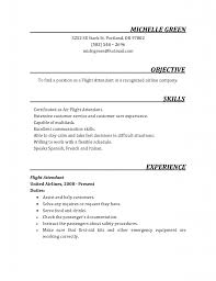 Sample Resume Objectives Service Crew by Flight Attendant Resumes Cover Letter For Cabin Crew Emirates Nc