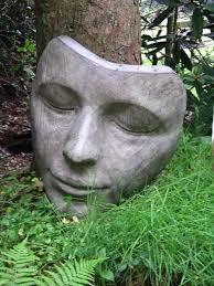sculpture the sleeper large bronze womans statues masks