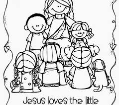 jesus loves children coloring pages coloring beach