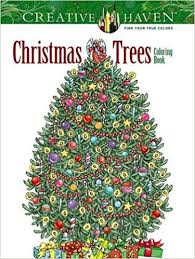 creative haven christmas trees coloring book creative haven