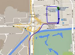miami airport terminal map driving from miami airport car rental centre to marco island