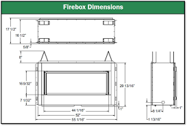 Fireplace Insert Dimensions by Fireplace Dimensions Garden Design