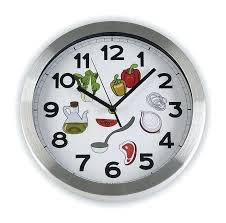 pendule de cuisine originale horloges de cuisine horloge de cuisine frais stock pendule cuisine