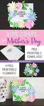 mother u0027s day crafts for kids free printable templates six
