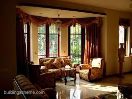 Drapery Designs For Bay Windows Ideas Livingroom Adorable Curtain Ideas For Living Room Windows
