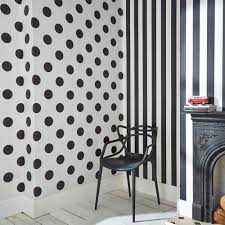 Black And White Polka Dot Curtains Graham U0026 Brown White And Gray Dotty Removable Wallpaper 100102