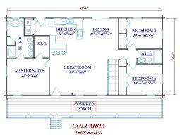 free log home floor plans floor plans wrap around porch log homes home house plans 28434