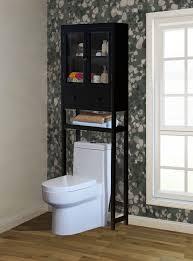 Space Saver Toilet Elegant Bathroom Over The Toilet Wood Spacesaver Storage Cabinet