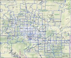 map az az zip codes scottsdale and tempe zip code boundary map