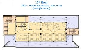 Office Building Floor Plan New Modern Office Building In The Airport Area 4409 On A Good
