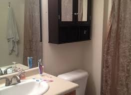 Black Painted Bathroom Cabinets Spray Paint Cabinets Bathroom Makeover Valspar Cabinet Paint