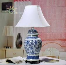 chinese porcelain lamps australia traditional ceramic blue and white porcelain vase base table lamps ceramic