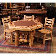 log dining room table arts and crafts dining room furniture arts