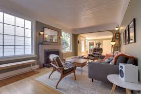just listed marvelous modern bungalow living room realty