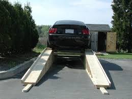 wooden car ramps drive accord honda forums