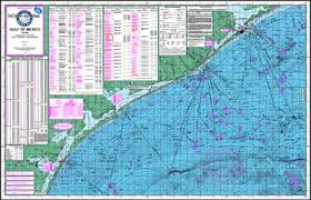 map of the gulf of mexico gulf of mexico offshore fishing map