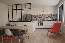 cuisine moderne salle a manger design blanc laque pour decoration cuisine
